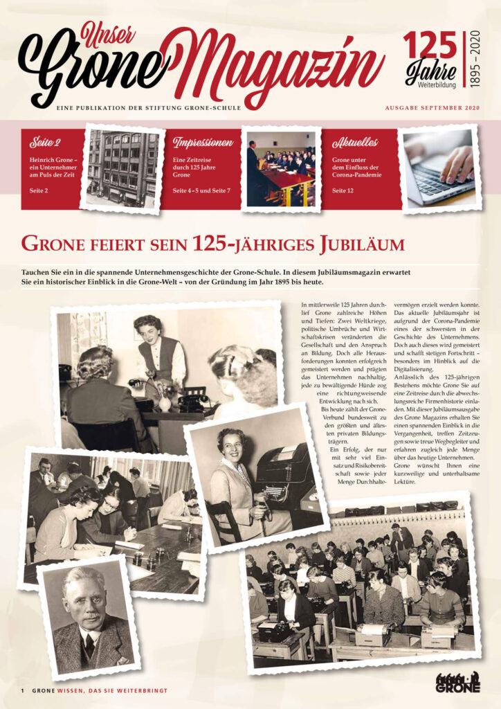 125 Jahre Grone Schule